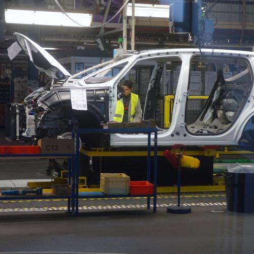 Renault Espace : visite de l'usine à Douai