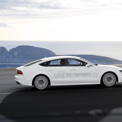 Audi A7 h-tron