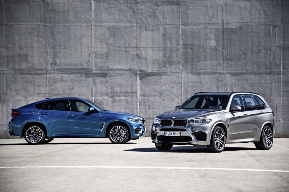BMW X5 M et X6 M