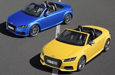 Audi TT et TTS Roadster