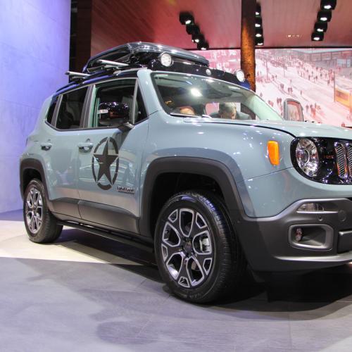 Mondial de l'Auto 2014 : Jeep Renegade