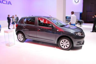 Mondial 2014 : Dacia Sandero Black Touch