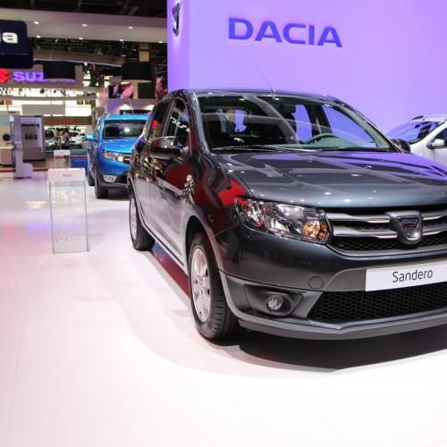 albums photos mondial 2014 dacia sandero black touch. Black Bedroom Furniture Sets. Home Design Ideas