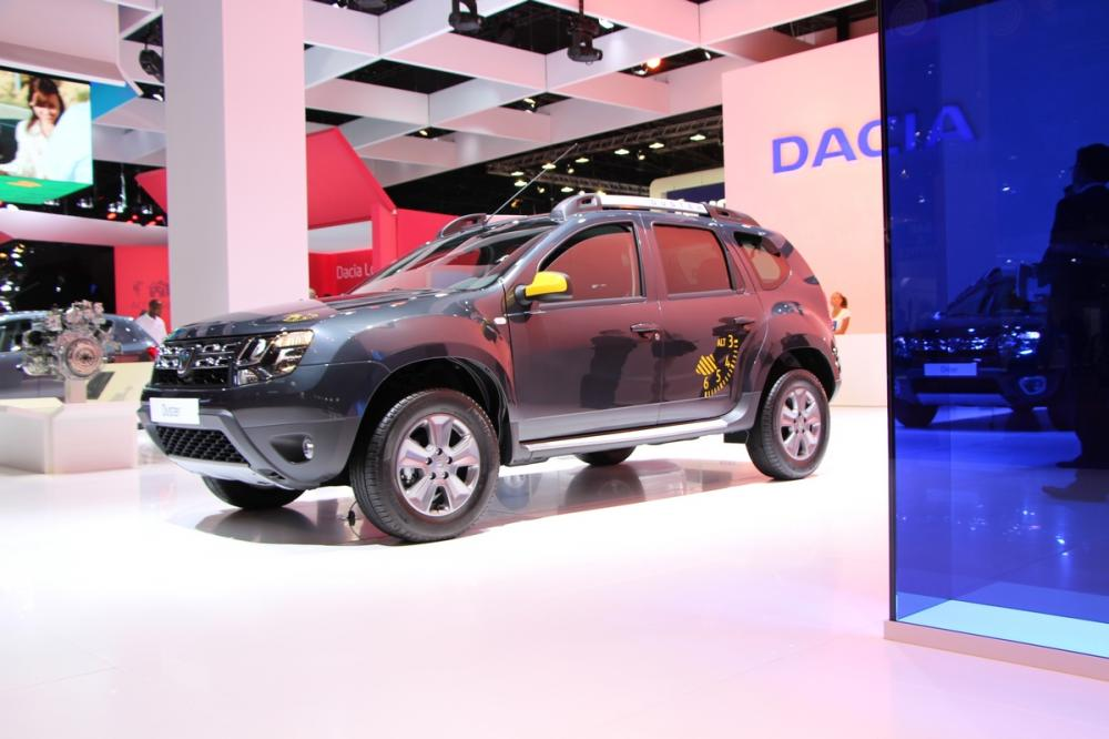 Mondial 2014 : Dacia Duster Air