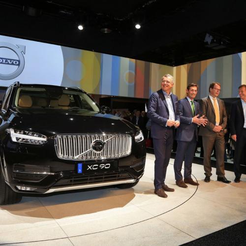 Mondial de l'Auto : Volvo XC90