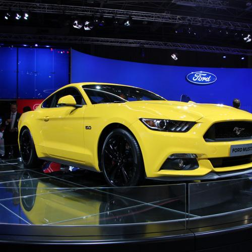 Mondial 2014 : Ford Mustang