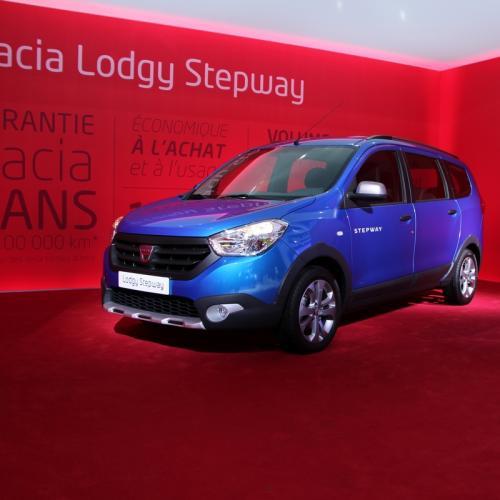 Mondial 2014 : Dacia Lodgy Stepway