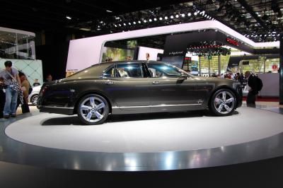 Mondial 2014 : Bentley Mulsanne Speed