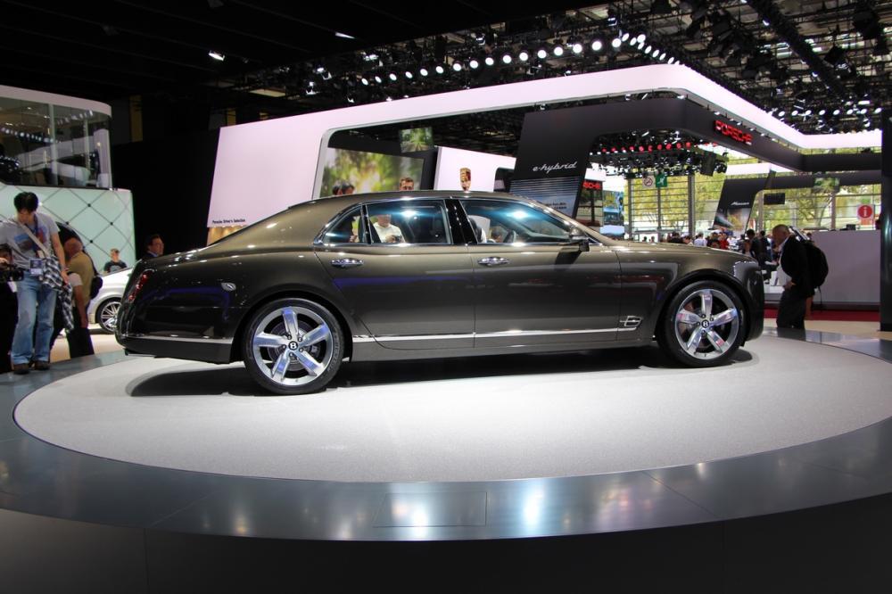 Mondial 2014 : Bentley Mulsanne Speed