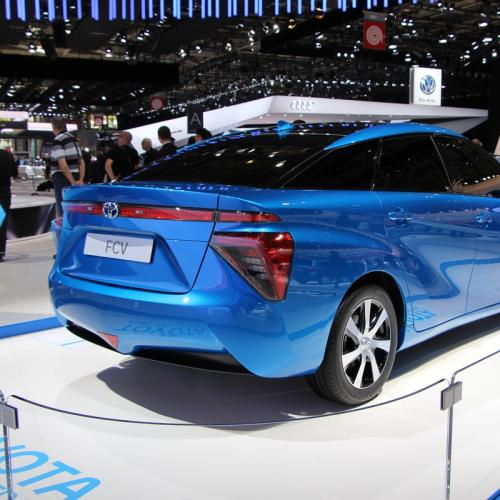 Mondial 2014 : Toyota FCV