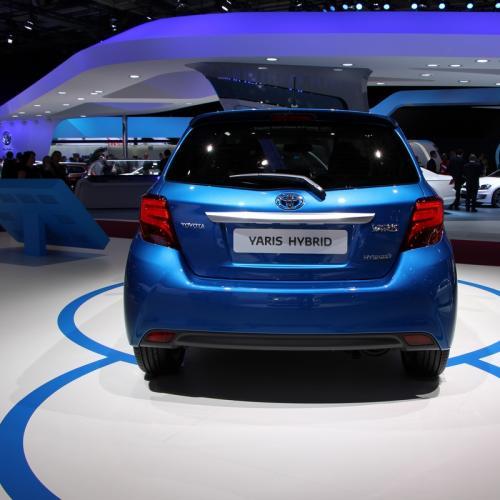 Mondial 2014 : Toyota Yaris restylée