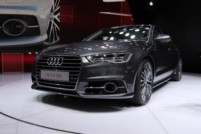 Mondial 2014 : Audi A6 restylée