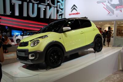 Mondial 2014 : Citroën C1 Urban Ride Concept