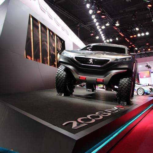 Mondial 2014 : Peugeot 2008 DKR