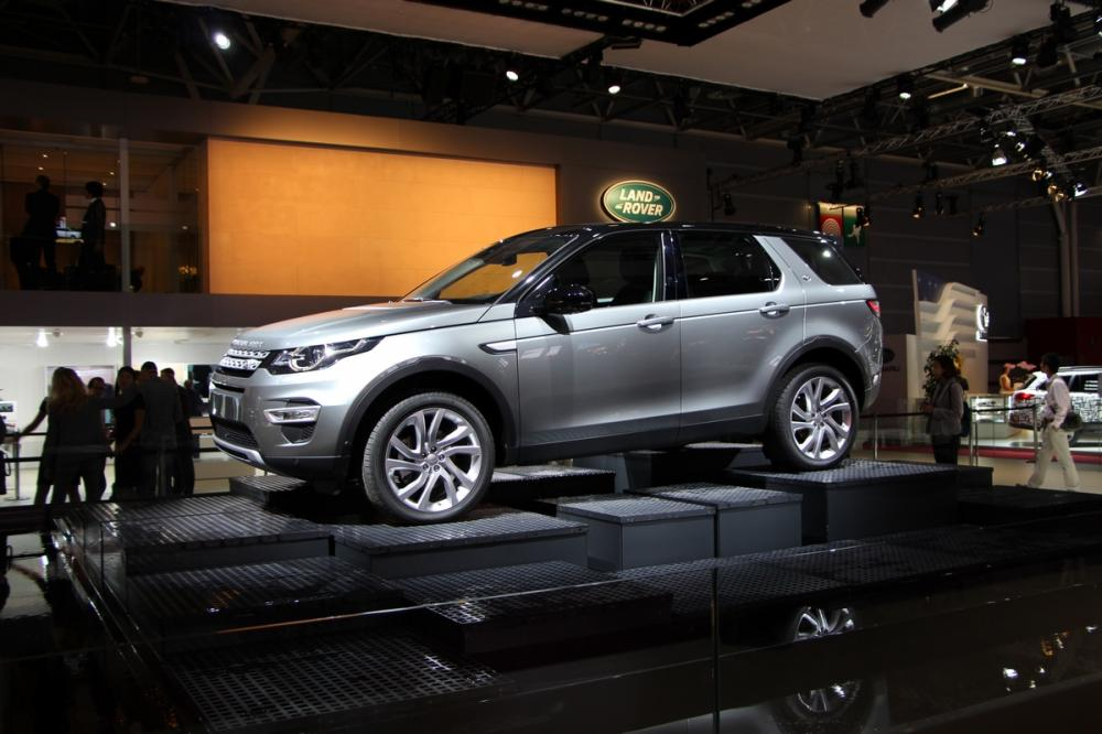Mondial 2014 : Land Rover Discovery Sport