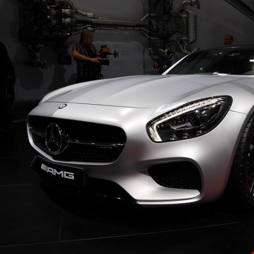 Mondial 2014 : Mercedes-AMG GT