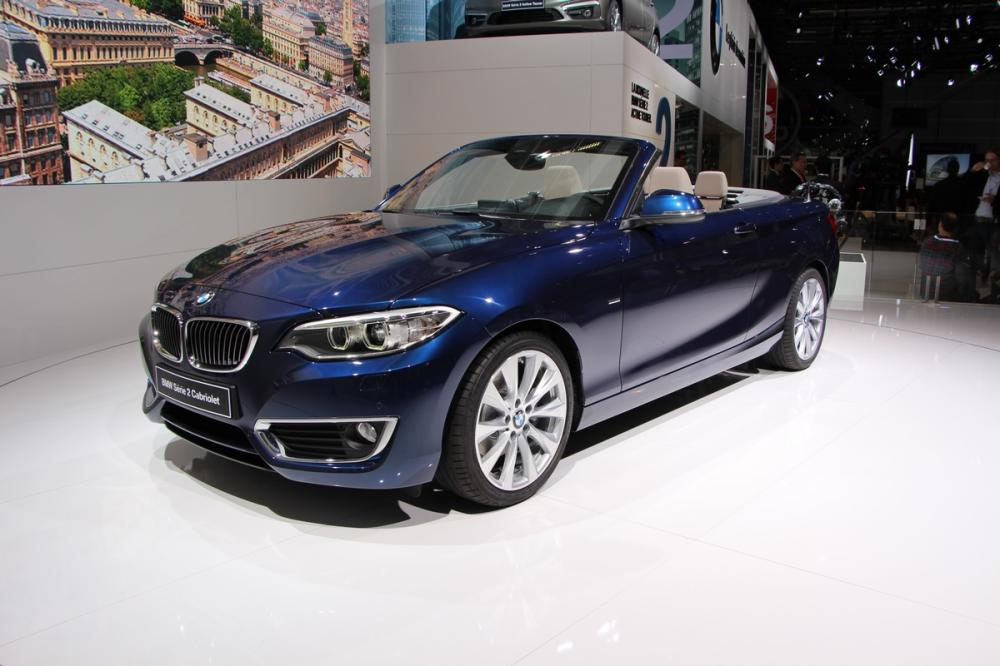 albums photos mondial 2014 bmw s rie 2 cabriolet. Black Bedroom Furniture Sets. Home Design Ideas