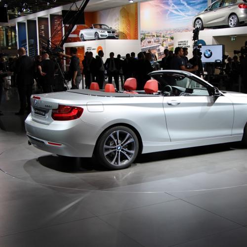 Mondial 2014 : BMW Série 2 Cabriolet