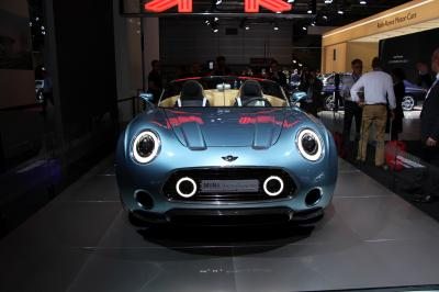Mondial 2014 : Mini Superleggera Vision Concept