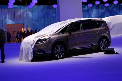 Mondial 2014 : Renault Espace