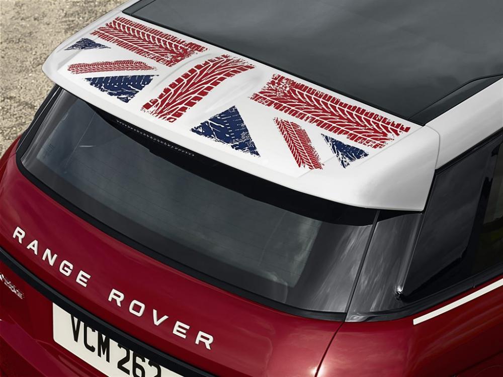 Range Rover Evoque British Edition