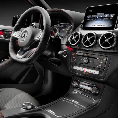 Mercedes Classe B restylée