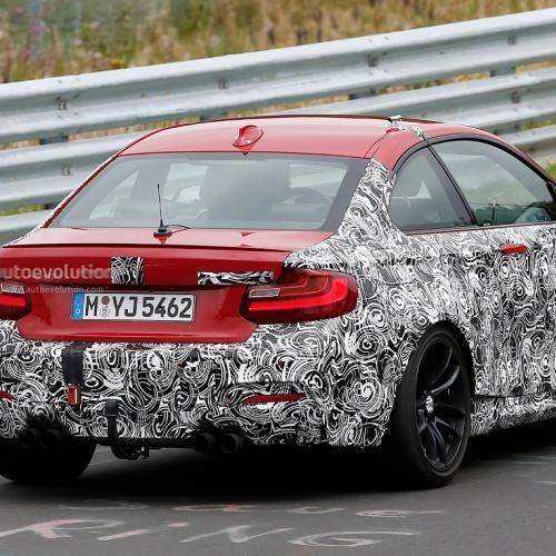Spyshots BMW M2
