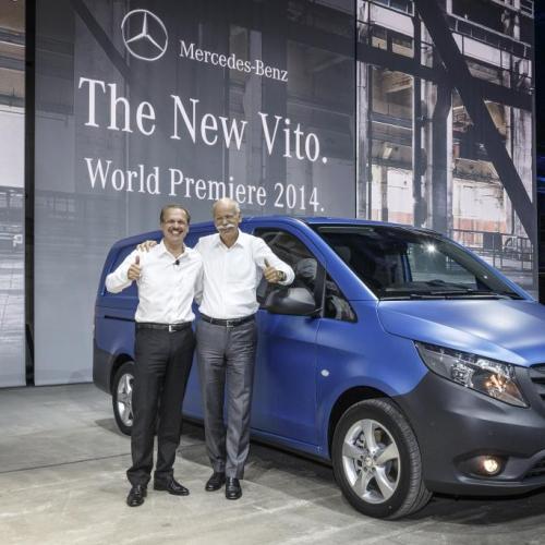 Nouveau Mercedes Vito : les photos