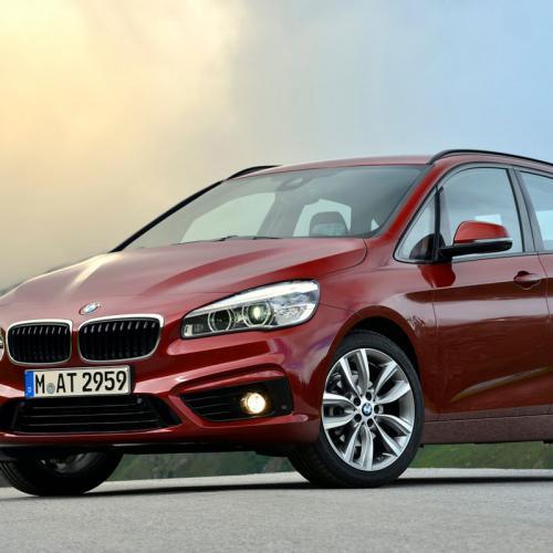BMW Série 2 Active Tourer : nouvelles photos