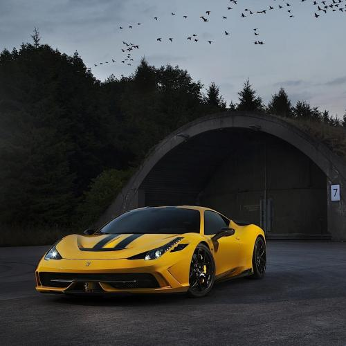 Ferrari 458 Speciale par Novitec Rosso : les photos