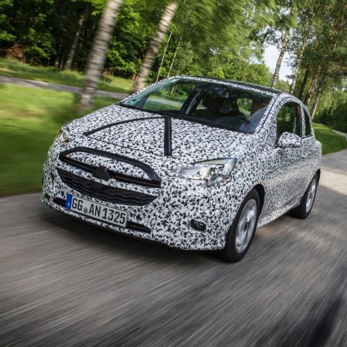 L'Opel Corsa 2014 en approche