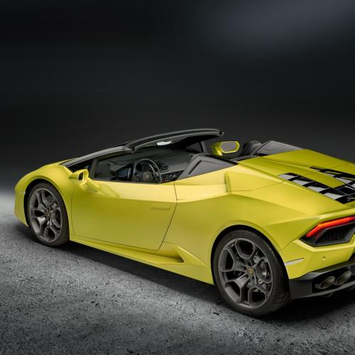 Lamborghini Huracan LP580-2 Spyder (officiel)