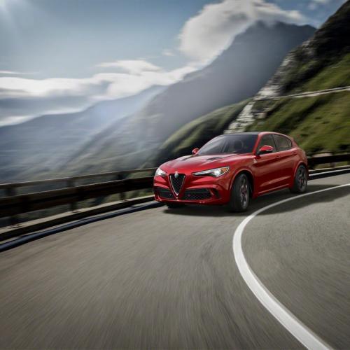 Alfa Romeo Stelvio Quadrifoglio (officiel)