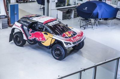 Peugeot 3008 DKR 2017 (version définitive)