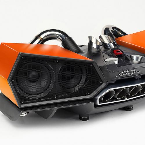 Enceinte Lamborghini Aventador