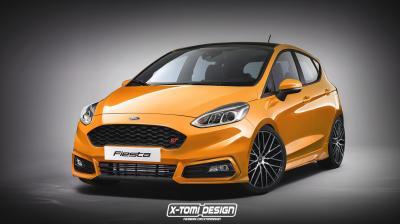Ford Fiesta 2017 : le plein de versions sportives imaginaires