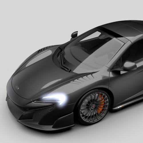 McLaren 675LT Carbon Series