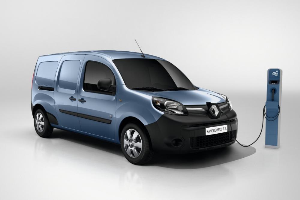 Renault Kangoo Z.E. (officiel - 2016)