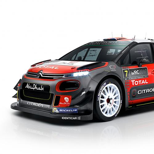 Citroën C3 WRC 2017 (version définitive)