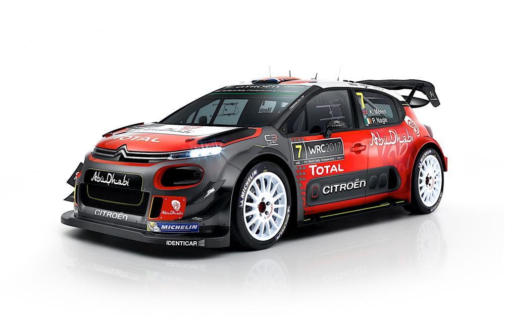 Citroën C3 WRC 2017 (version définitive)