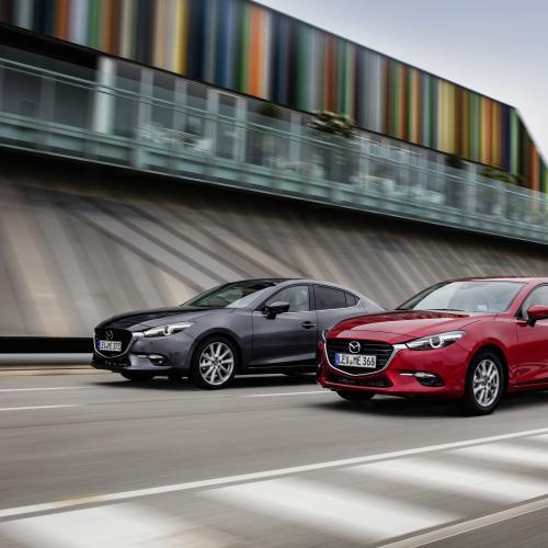Mazda 3 restylée (essai - 2016)