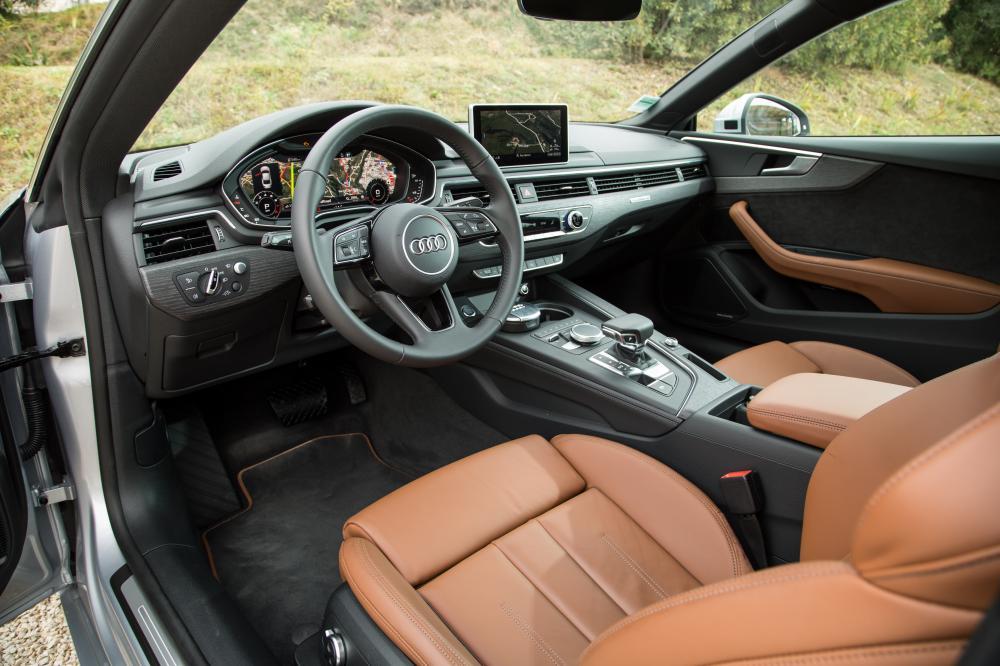Audi A5 coupé (essai - 2016)