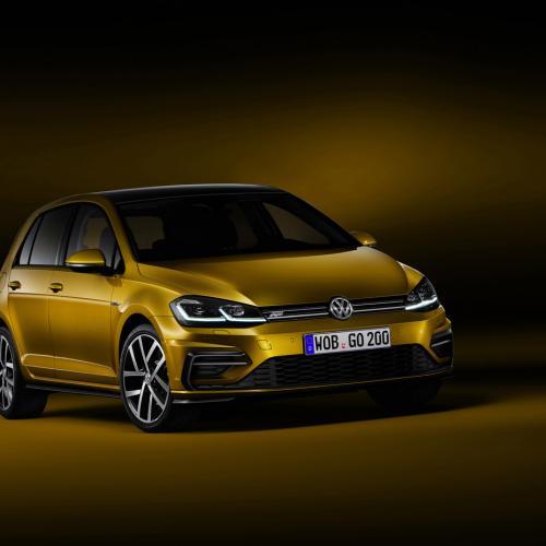 Volkswagen Golf R-Line restylée (2017)