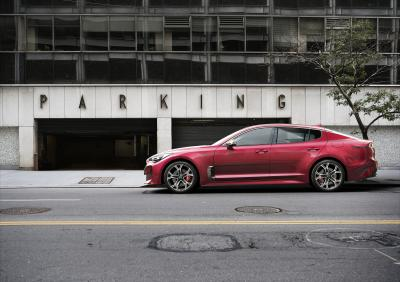 Kia Stinger GT (officiel - 2017)