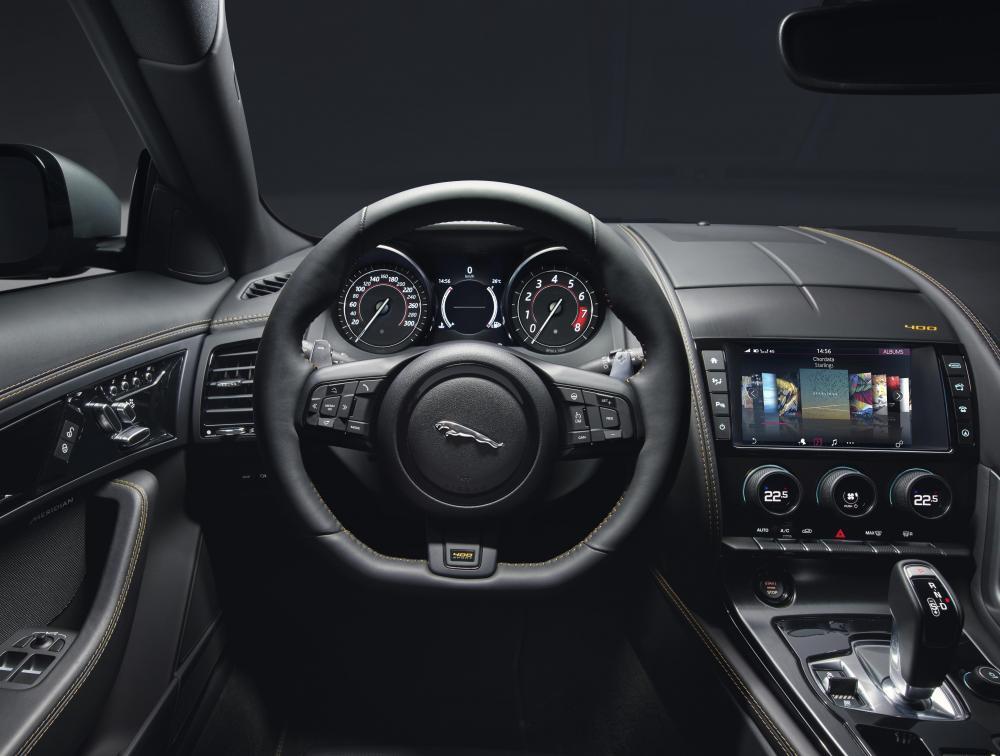 Jaguar F-Type restylée 2017