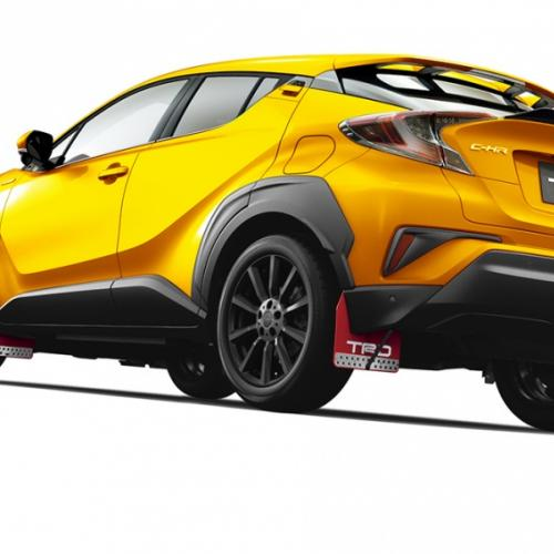 Toyota C-HR Extreme Style par TRD