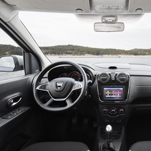 Dacia Lodgy et Dokker restylés 2017
