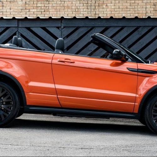 Range Rover Evoque Cabriolet par Kahn Design