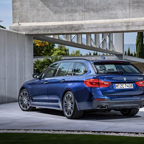 Nouvelle BMW Série 5 Touring 2017