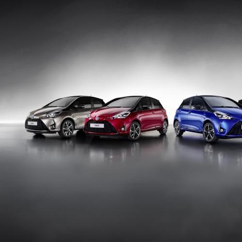 Toyota Yaris restylée 2017